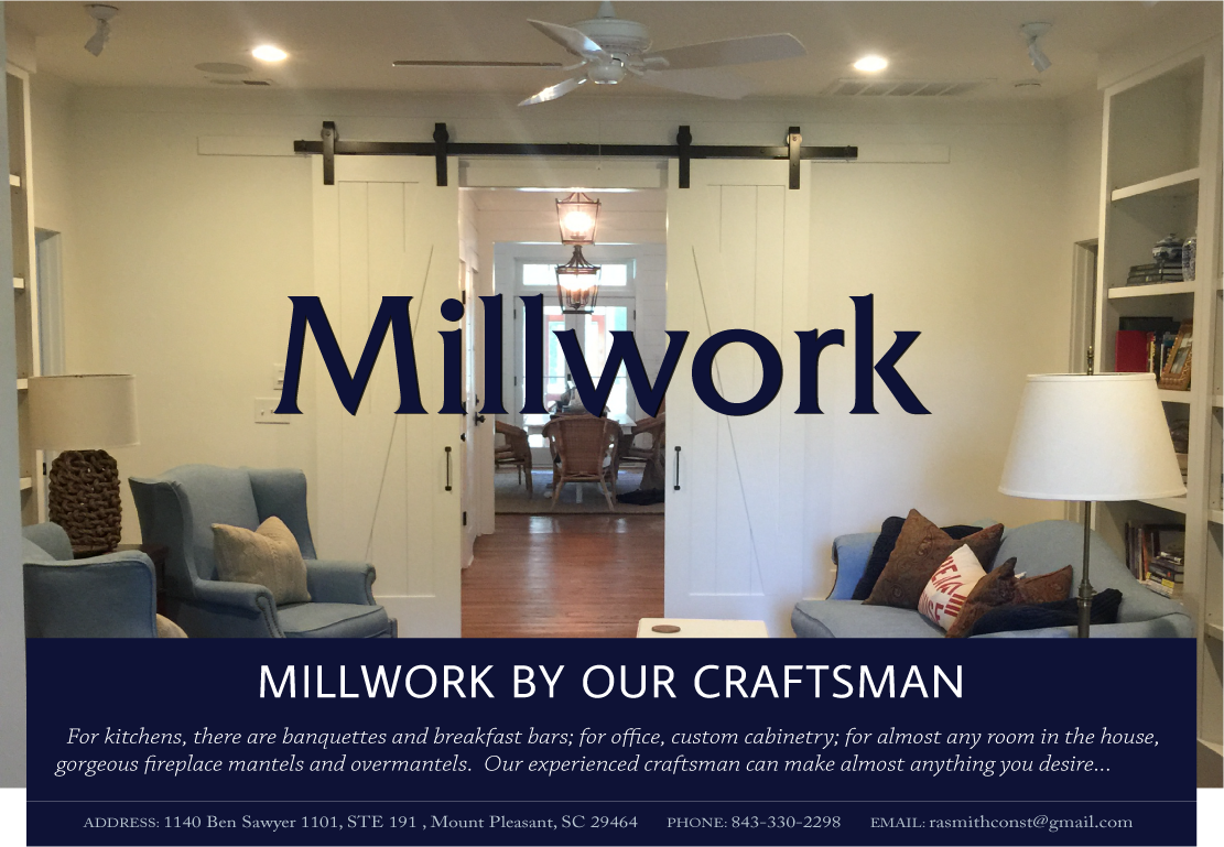 Millwork | RA Smith Construction | Charleston, SC
